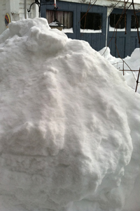 snow-barn